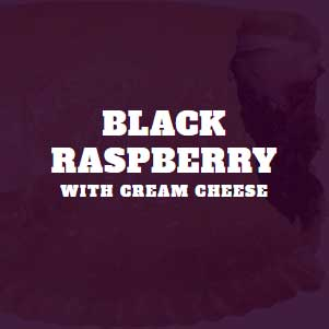 Black Raspberry with Cream Cheese
